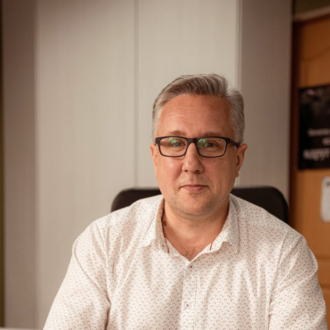 Gary Weaver on position - Co-founder/Senior Account and Sales Manager